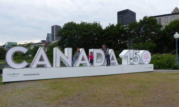 Un vol pour le Canada
