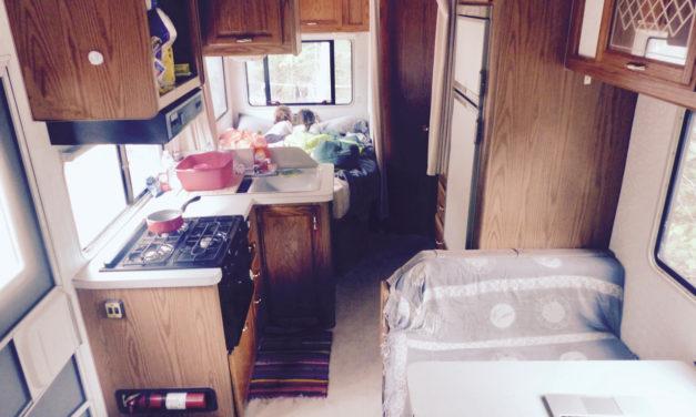 Emménagement dans la maison mobile