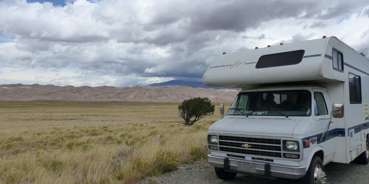 Spot 43 : Camping du parc Great Sand Dunes