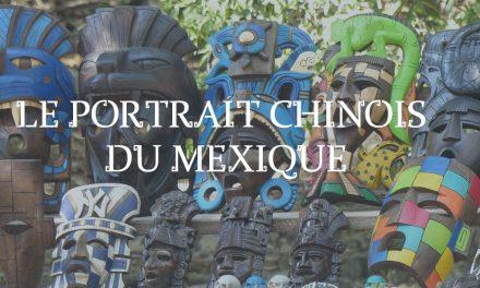 Portrait Chinois du Mexique